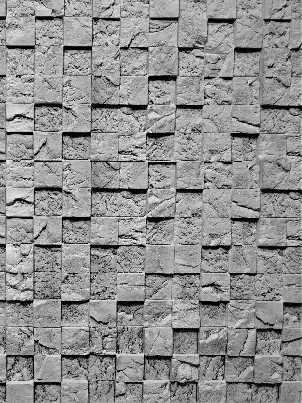 Гипсовая плитка 3D мозаика Скала