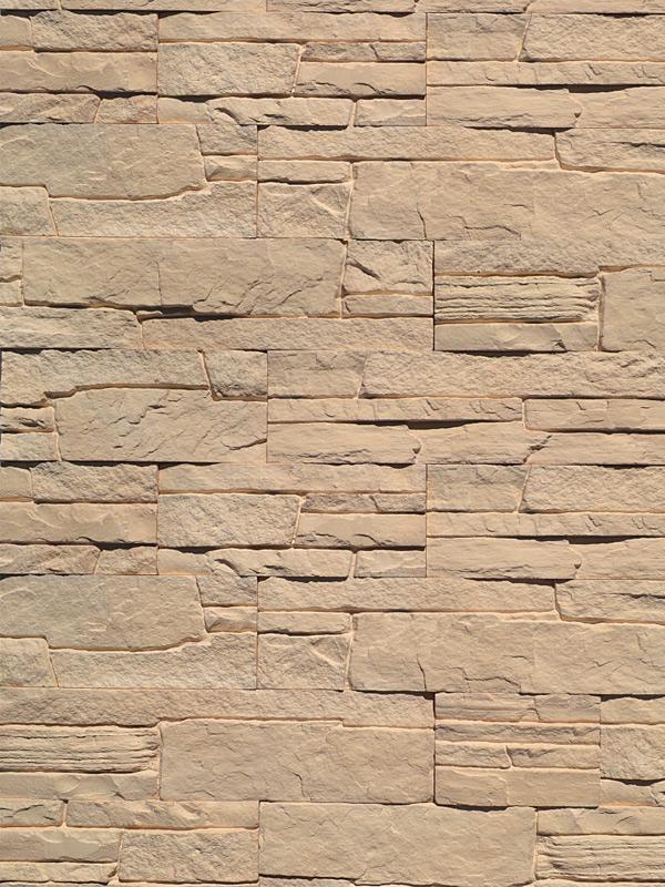 Гипсовая плитка Сланец классический Песочный