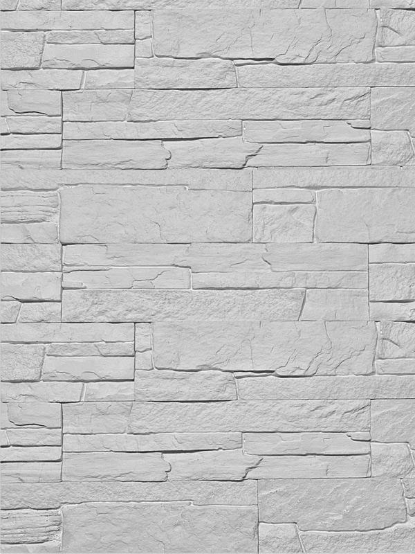 Гипсовая плитка Сланец классический Светло-серый