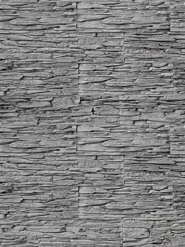 Гипсовая плитка Сланец тонкослойный Скала